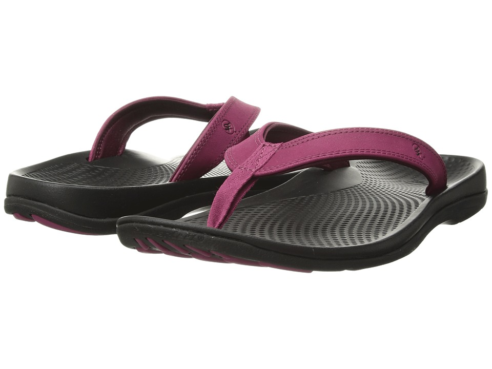 Superfeet Outside Sandal 2 (Sangria/Black) Sandals