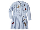 Burberry Kids Detailed Shirtdress (Little Kids/Big Kids)