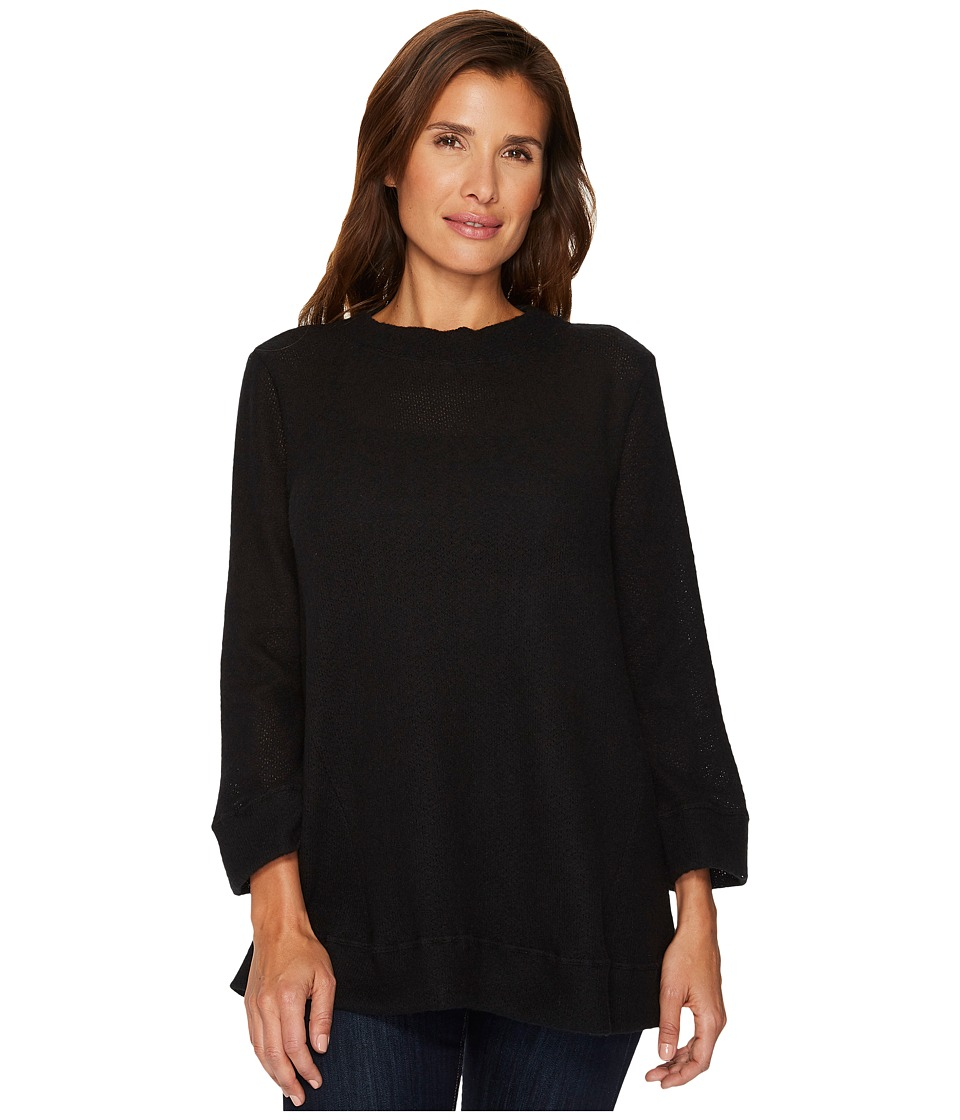 Nally & Millie - Mock Neck Brushed Sweater Tunic