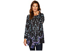 Nally & Millie Tree Print Asymmetric Tunic