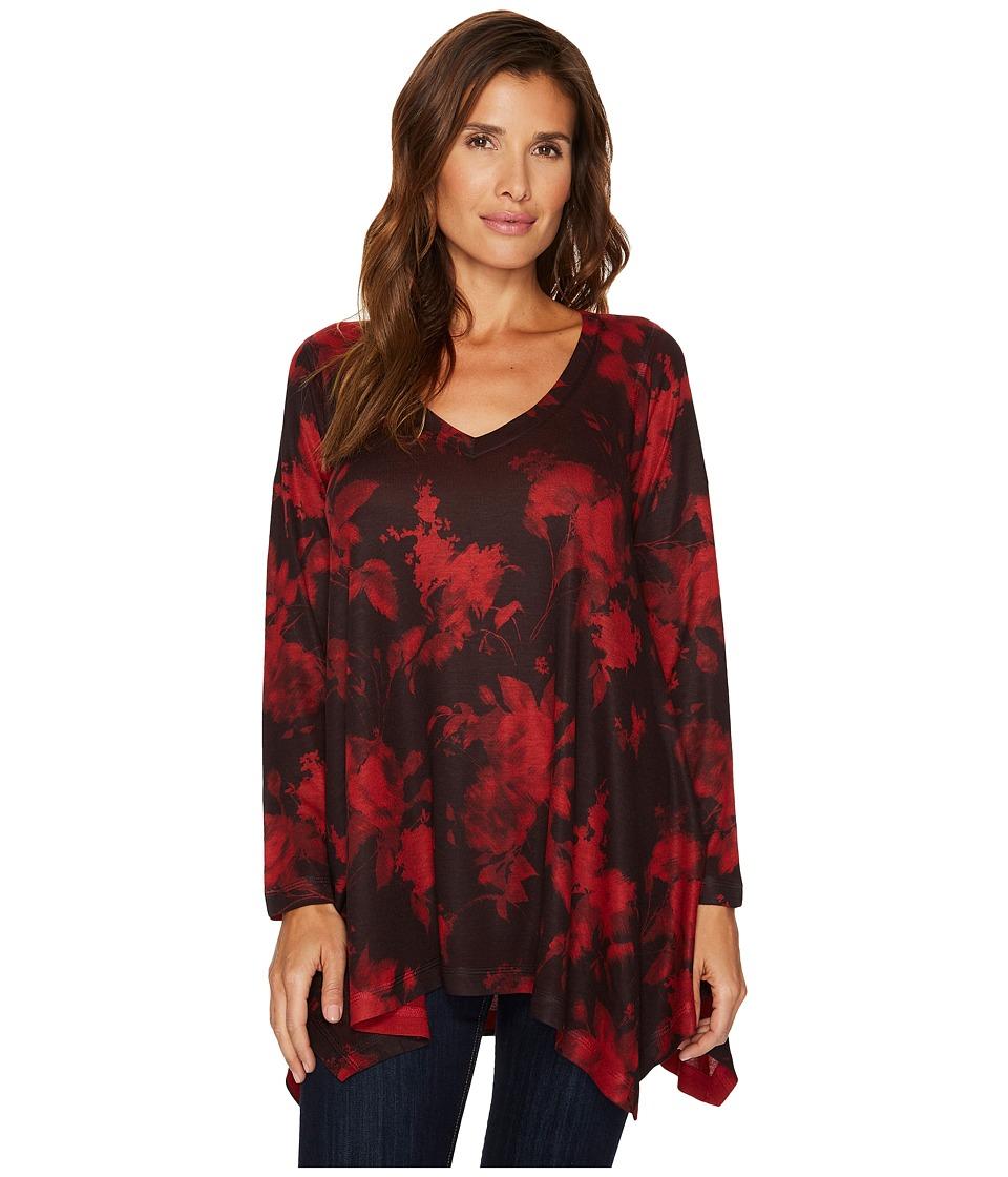 Nally & Millie - Red Print Tunic