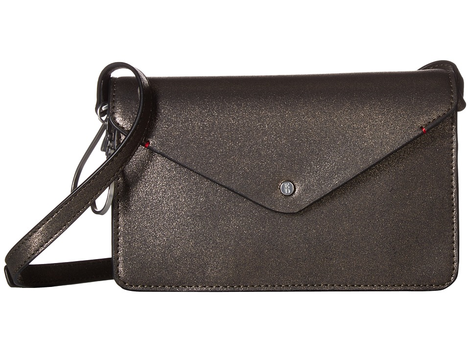 ED Ellen DeGeneres - Lyon Small Crossbody (Matte Bronze) Cross Body Handbags