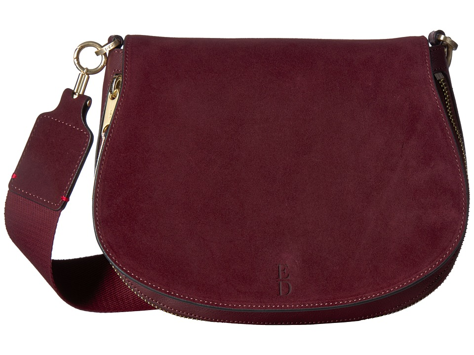 ED Ellen DeGeneres - Lyon Medium Crossbody (Sugar Red) Cross Body Handbags