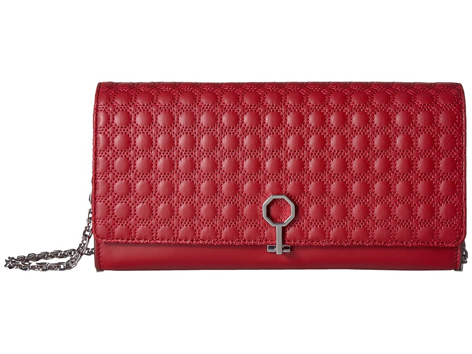 Louise et Cie Yvet Clutch (Cherry Red) Clutch Handbags