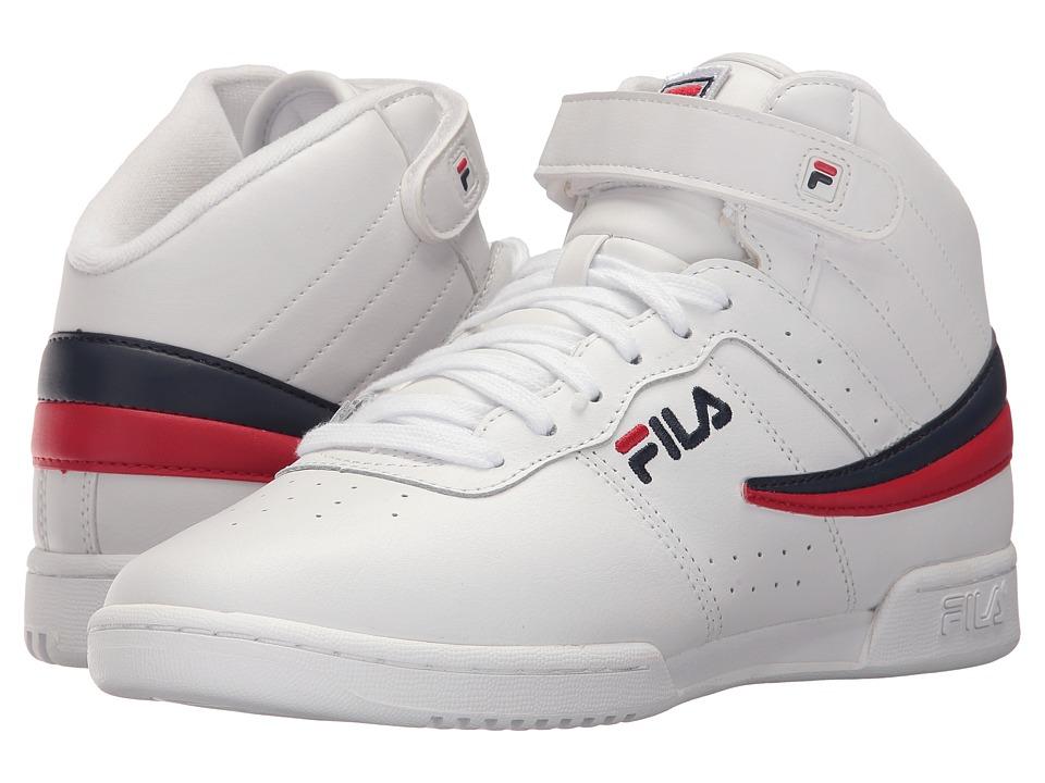 Fila F-13 (White/Fila Navy/Fila Red) Women