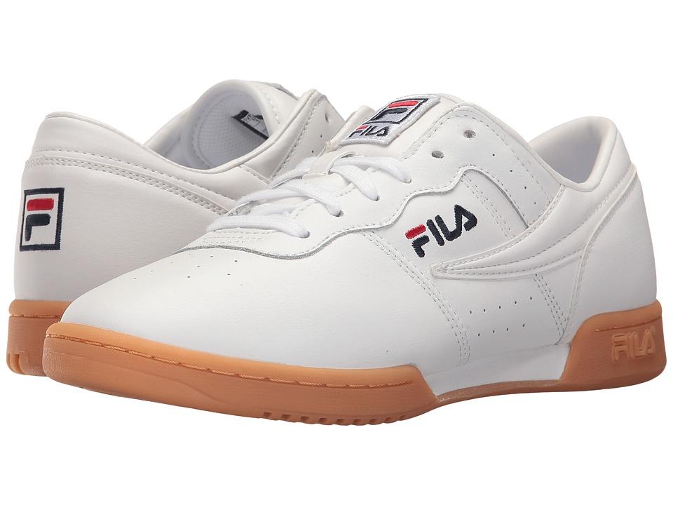 Fila Original Fitness (White/White/Gum) Women