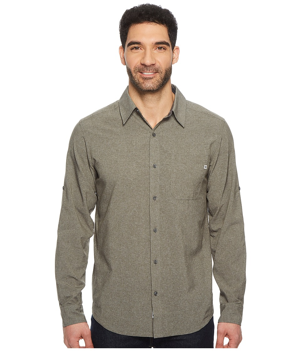 Marmot - Windshear Long Sleeve (Cinder 1) Mens Clothing