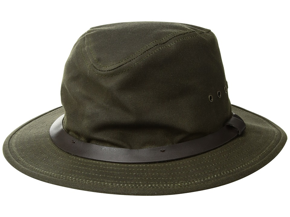 Filson - Tin Packer Hat (Otter Green) Caps