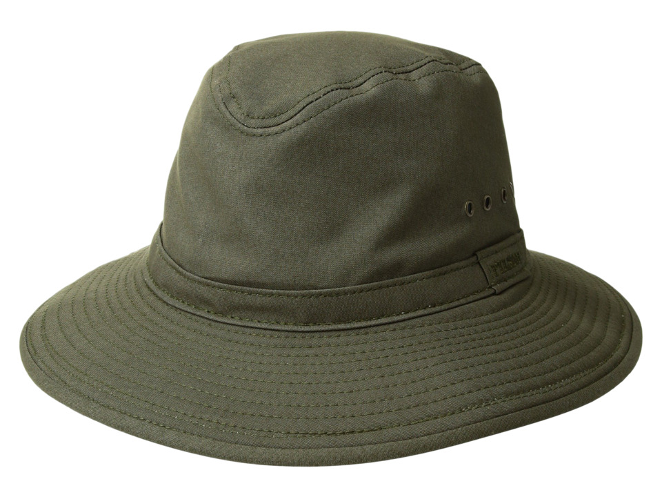 Filson - Summer Packer Hat (Otter Green) Caps