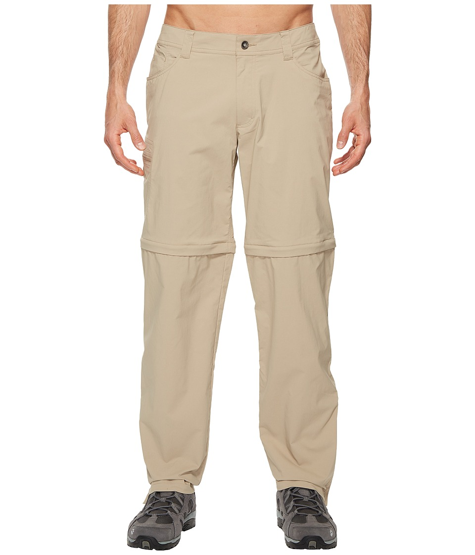 Marmot - Transcend Convertible Pants (Light Khaki) Mens Casual Pants