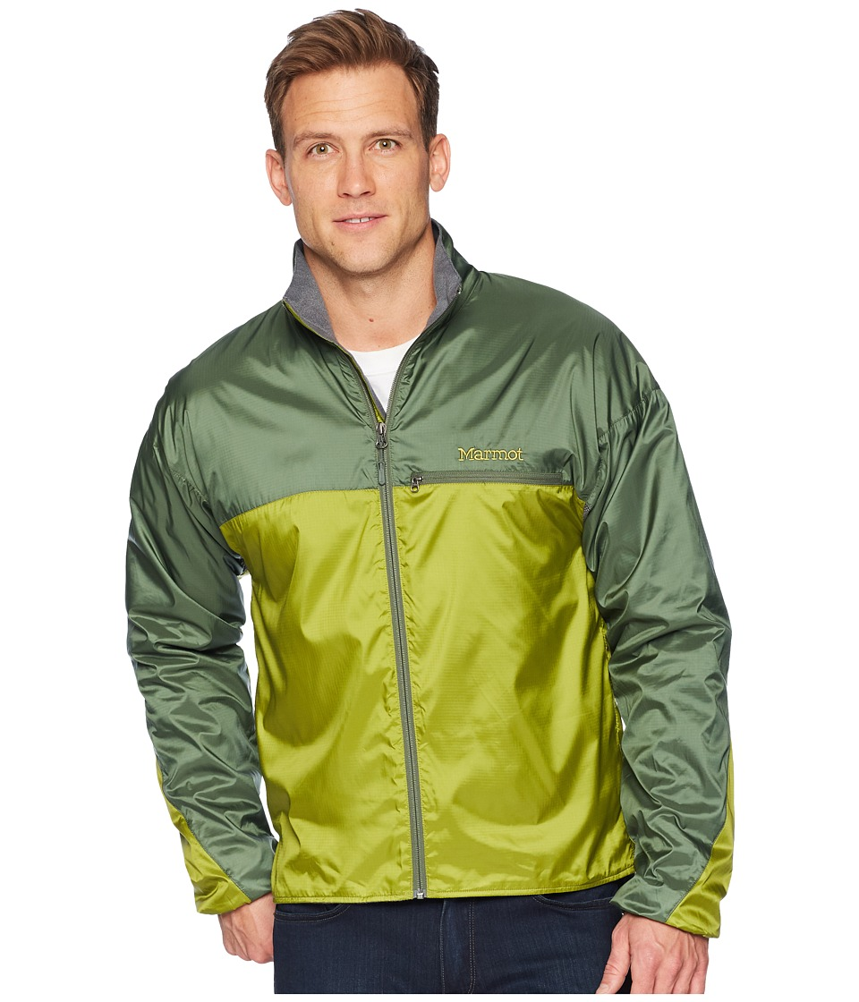 Marmot - DriClime Windshirt (Cilantro/Crocodile) Mens Clothing