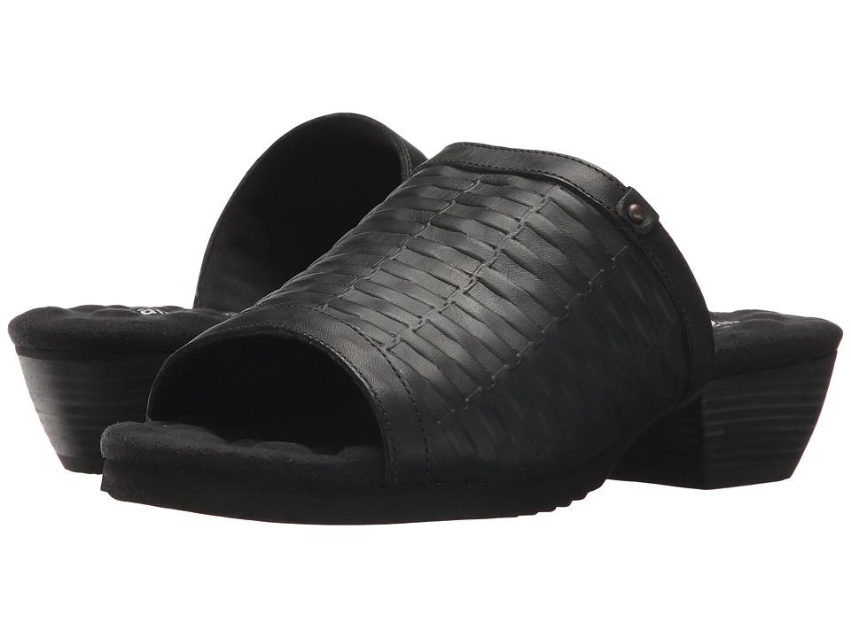 Walking Cradles Cape (Black Basket Leather) Women's Shoes
