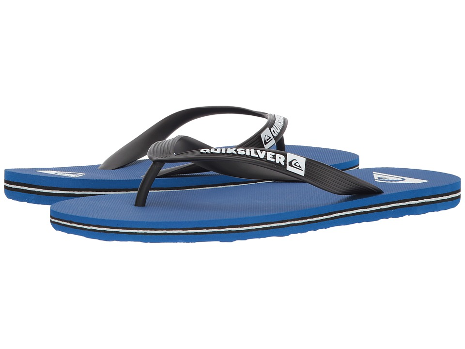 Quiksilver - Molokai (Black/Blue/Black 2) Mens Sandals