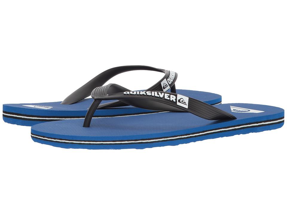 Quiksilver - Molokai (Black/Blue/Black 2) Men's Sandals