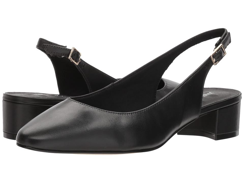 Walking Cradles Hazel (Black Leather) Women's Shoes