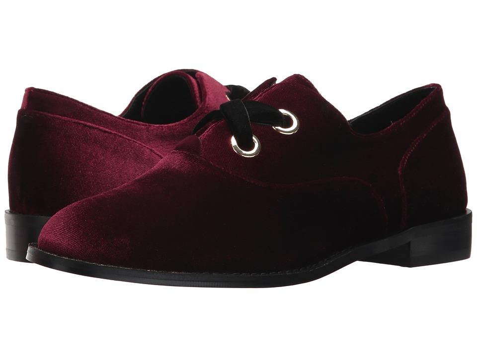 Shellys London Frankie Oxford (Burgundy) Women