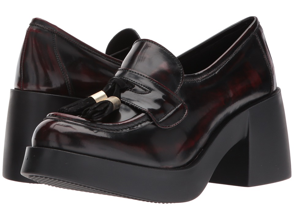 Shellys London Kipp platform loafer (Burgundy) Women