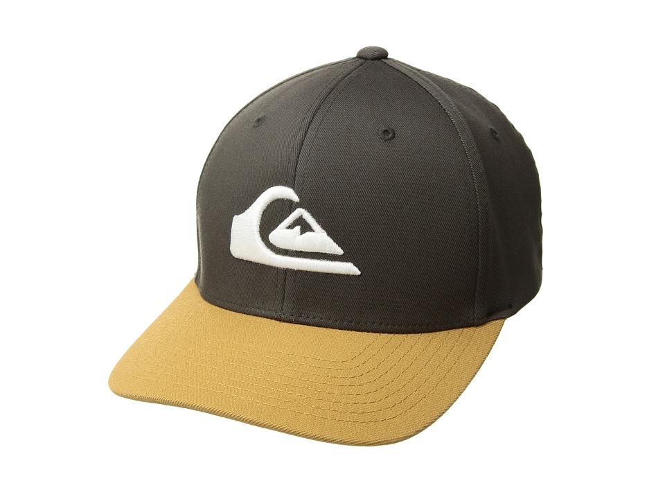 Quiksilver - Mountain and Wave Hat (Raven) Caps