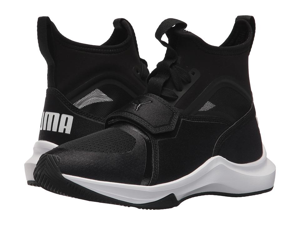 Puma Kids Phenom (Big Kid) (Puma Black/Puma Black) Kids Shoes