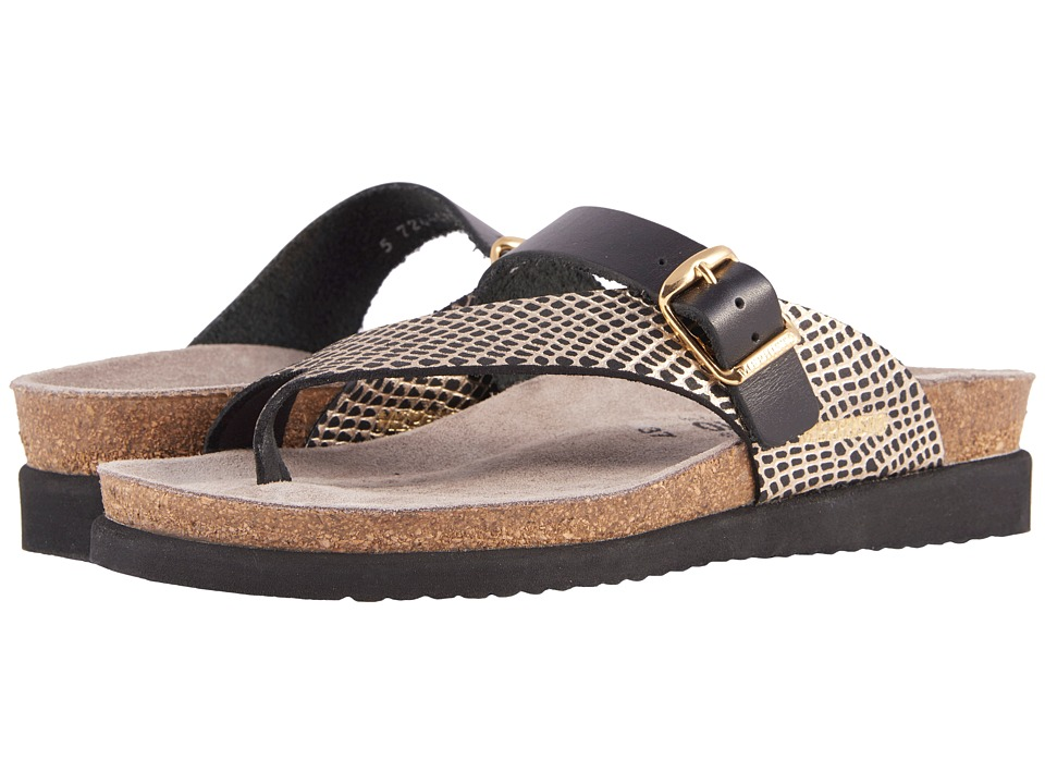 Mephisto - Helen Mix (Black Waxy/Cuba) Women's Sandals