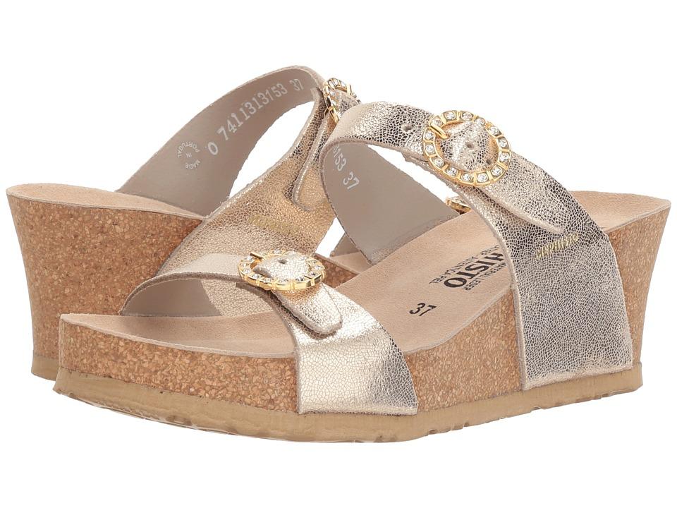 Mephisto - Lidia (Platinum Venise) Womens Wedge Shoes