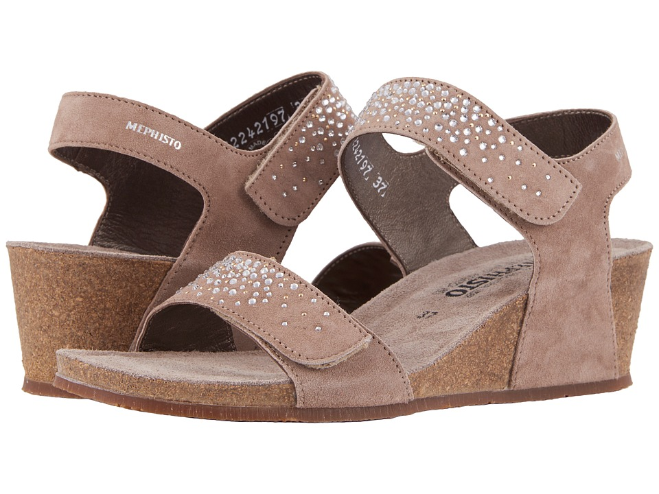 Mephisto - Maria Spark (Light Taupe Velcalf Premium) Womens Shoes