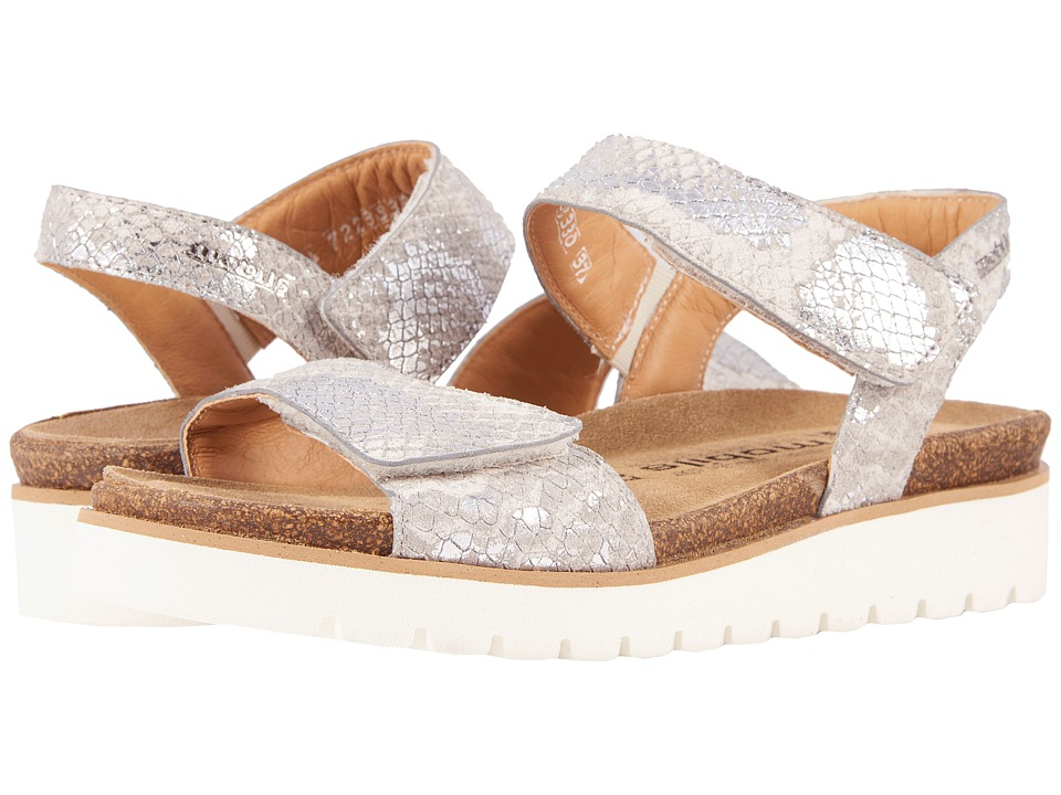 Mephisto - Thelma (Nickel Boa) Women's Sandals