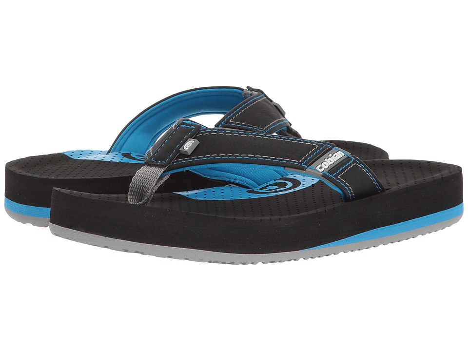 Cobian - Arv Jr. (Toddler/Little Kid/Big Kid) (Black) Men's Sandals