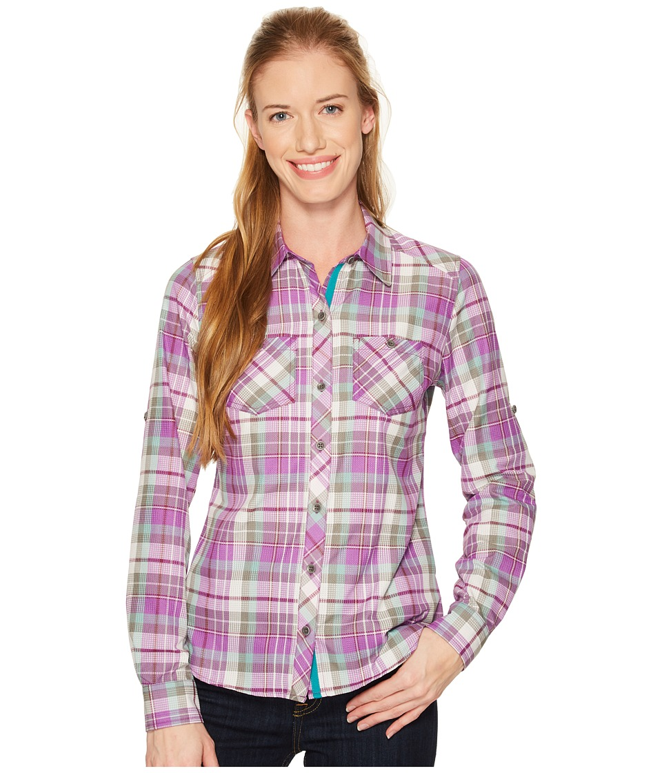 Marmot - Lillian Long Sleeve (Bright Violet) Womens Clothing