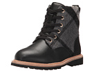 Burberry Kids Check Lace-Up Weatherboots with Shearlin (Toddler/Little Kid)