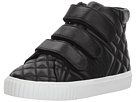 Burberry Kids Quilted Leather High Top Trainers (Toddler/Little Kid)