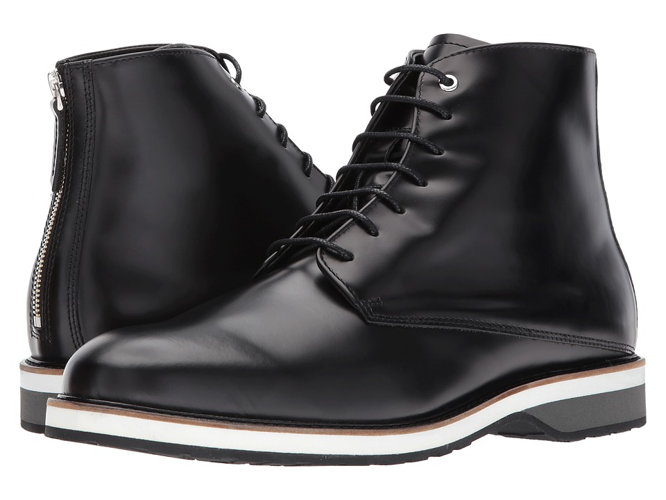 WANT Les Essentiels - Montoro High Derby Boot (Black) Mens Lace-up Boots