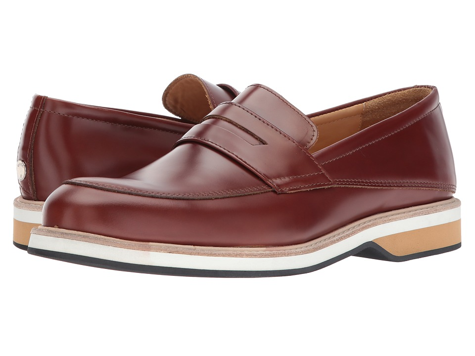 WANT Les Essentiels - Marcos Loafer (Cognac) Mens Slip on  Shoes