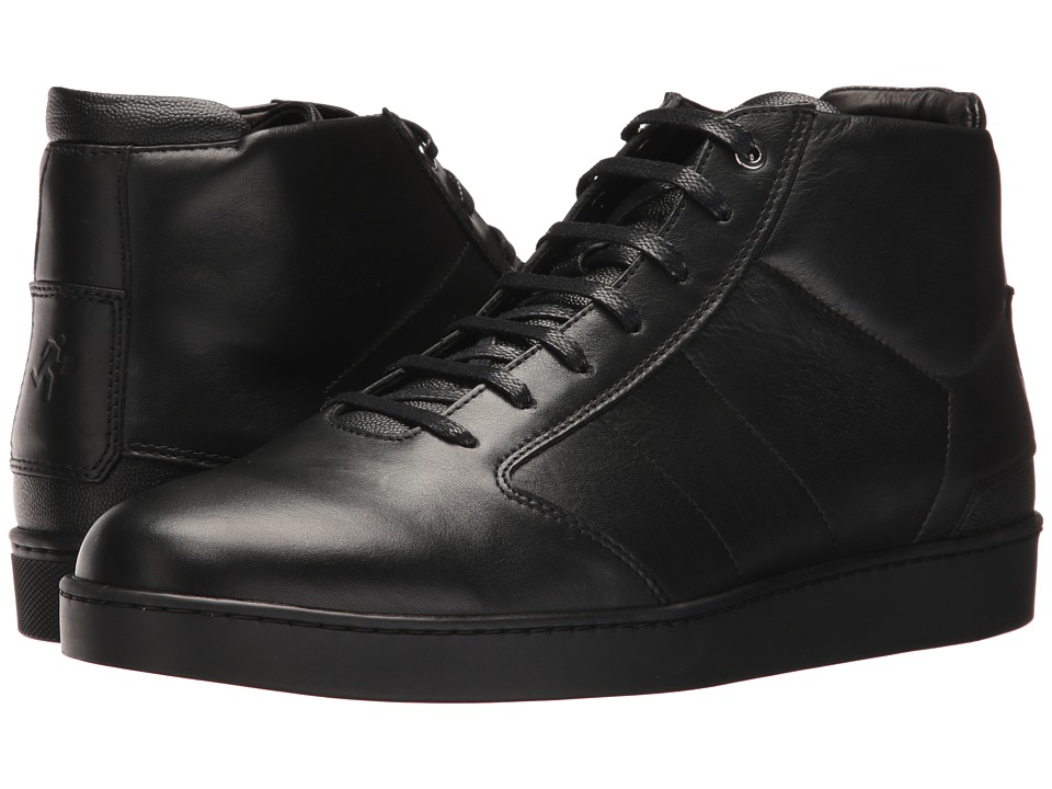 WANT Les Essentiels - Lennon Mid Sneaker (Multi Black/Black) Mens Lace up casual Shoes