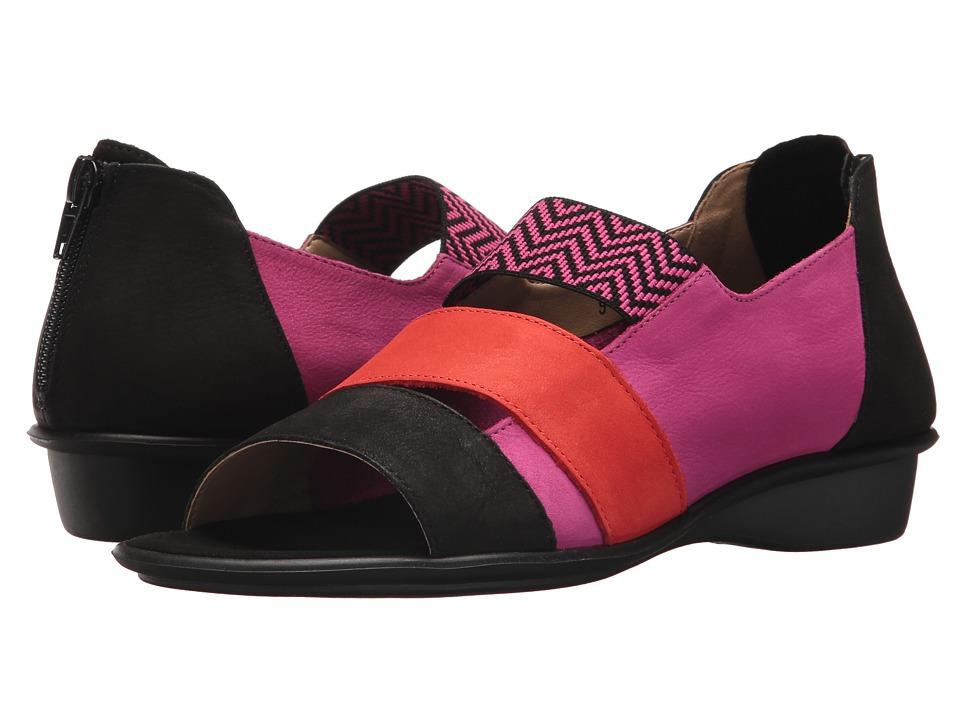 Sesto Meucci - Elise (Magenta Soft Nabuk/Co1) Women's Sandals