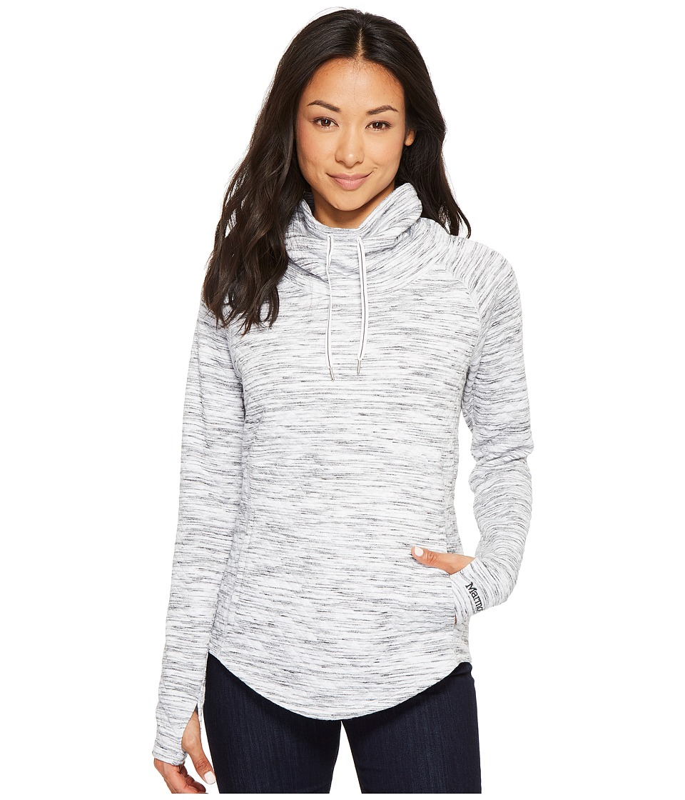 Marmot - Annie Long Sleeve (White) Womens Clothing