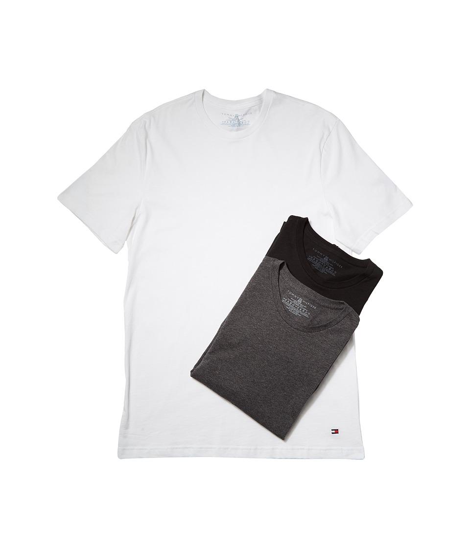 Tommy Hilfiger Cotton Crew Neck Shirt 3-Pack (Winter Whit...