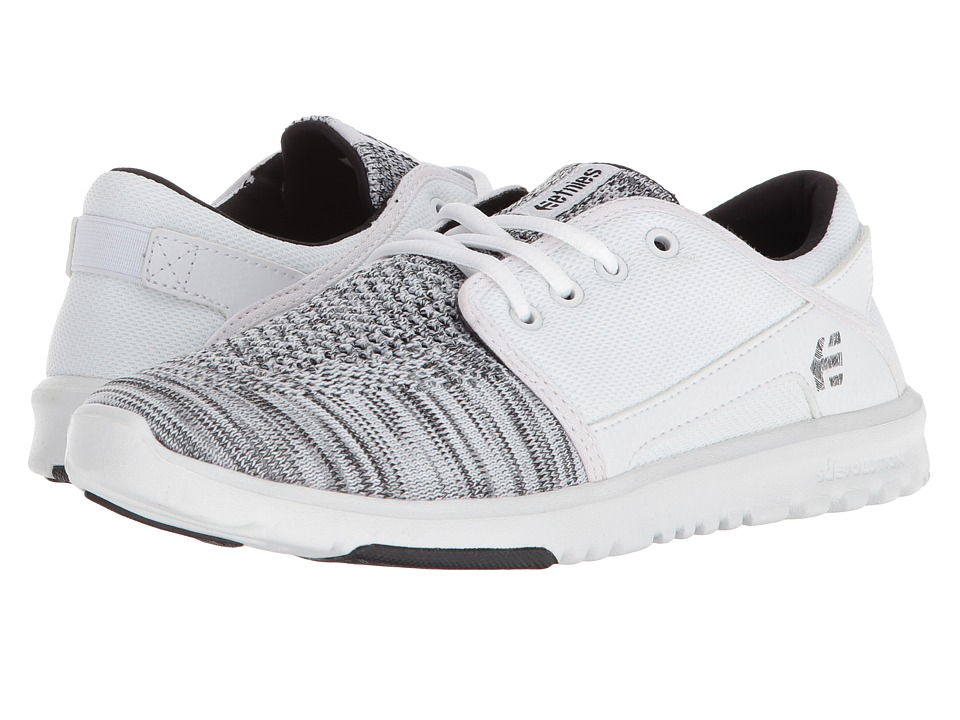 etnies Scout YB (White) Women's Skate Shoes
