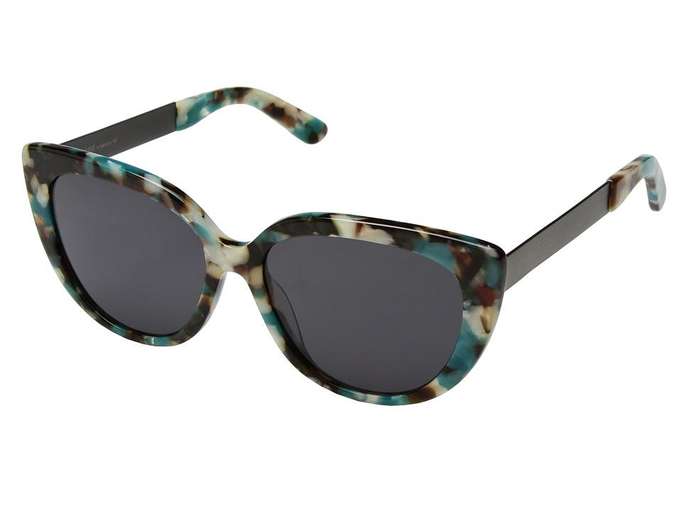 PERVERSE Sunglasses Helena (Blue/Multi/Black) Fashion Sunglasses