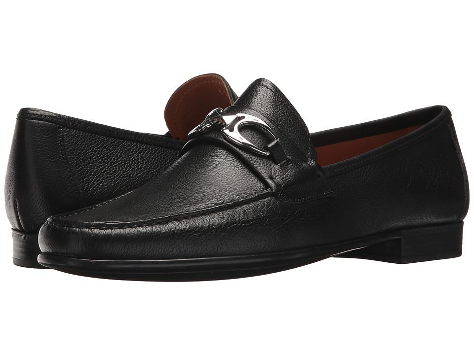 Right Bank Shoe Cotm - Charles Bit Loafer (Black) Mens Slip on  Shoes