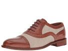 Right Bank Shoe Cotm Indy Vachetta/Canvas Oxford