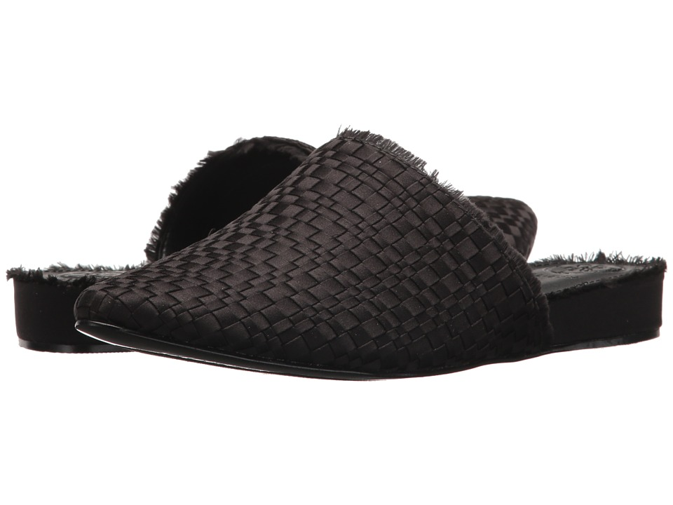 GUESS - Jamin (Black Satin) Womens Slip on  Shoes