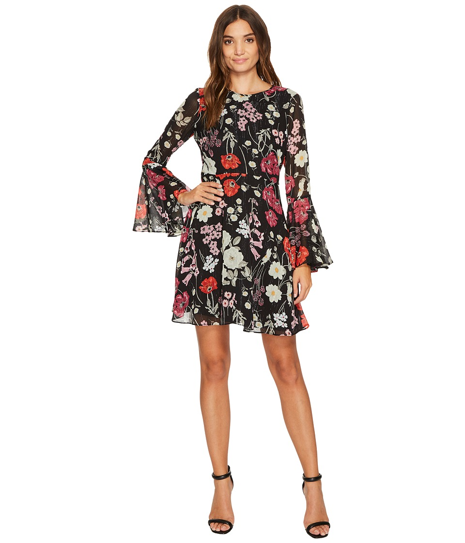 Donna Morgan - Gwendoline Fit and Flare Bell Sleeve Dress