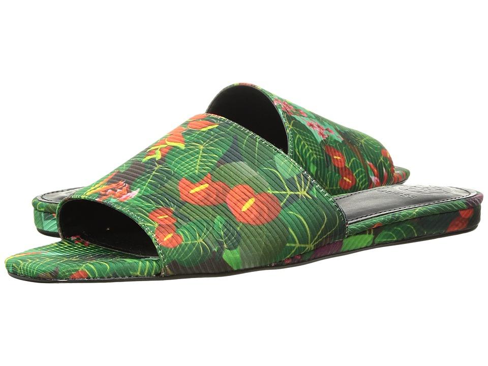 GUESS - Harieta (Green Fabric) Womens Shoes