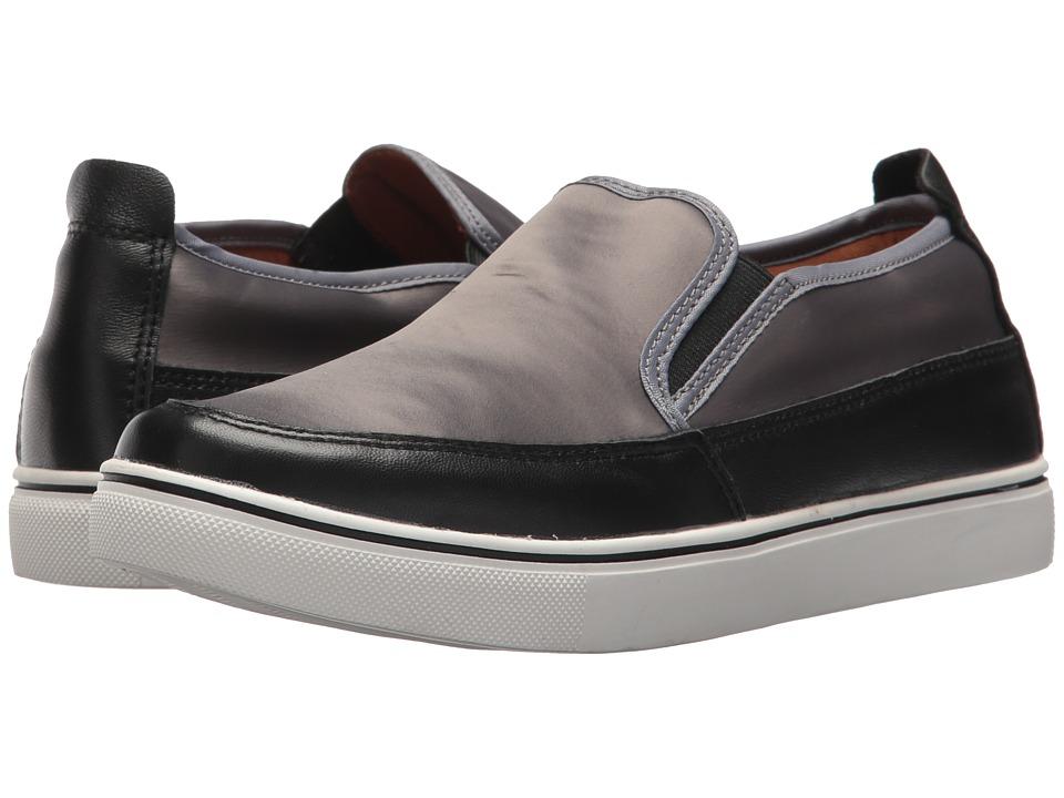 bernie mev. Lara (Grey Satin) Slip-On Shoes