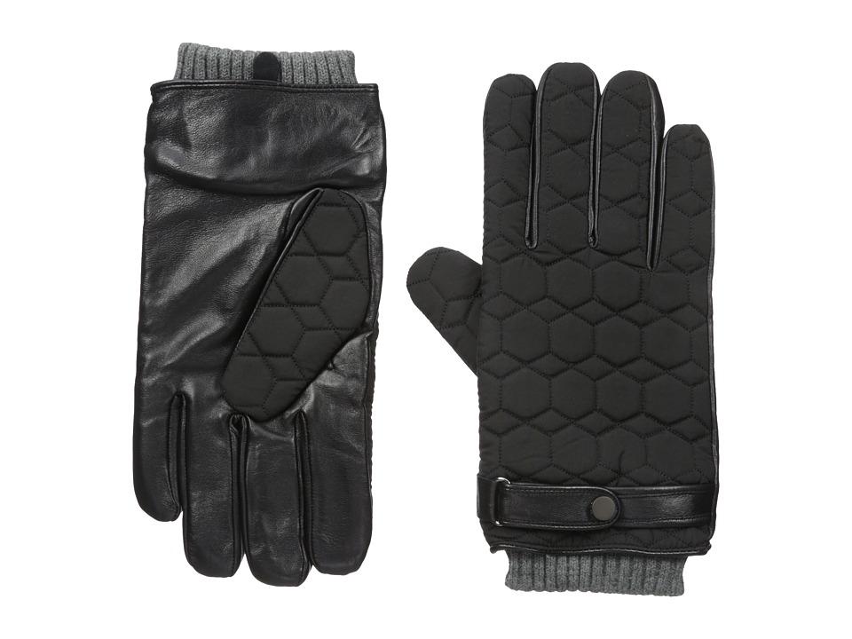 Ted Baker Modcut (Black) Gore-Tex Gloves