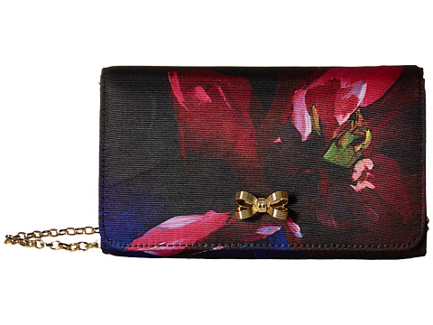 Ted Baker Chain Strap Bow Bag - Black