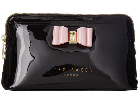 Ted Baker Bow Triangle Make Up Bag - Black