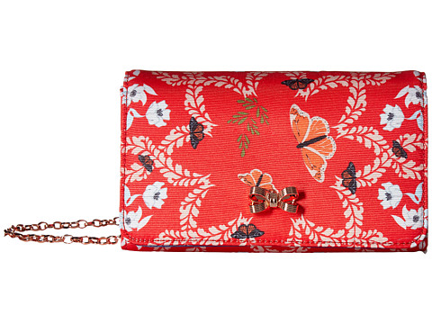 Ted Baker Kyoto Gardens Bow Bag - Bright Red