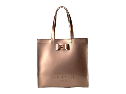 Ted Baker Large Icon Bag - Rose Gold Col